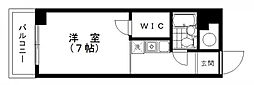 第三エントピアコート麻布[3階]の間取り
