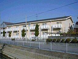 愛知県稲沢市緑町4丁目の賃貸アパートの外観