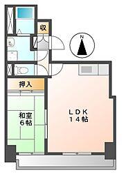 トータスビル[5階]の間取り