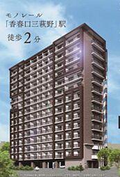 グランシャリオ三萩野[14階]の外観