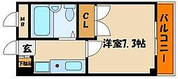 ルミエール明石[2階]の間取り
