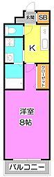 アステル 〜aster〜(星)[1階]の間取り
