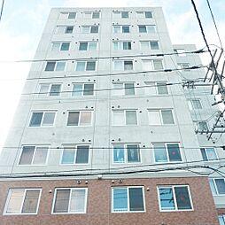 北海道札幌市厚別区大谷地東2丁目の賃貸マンションの外観