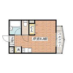 SHINYO[4階]の間取り