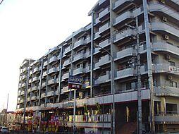 京都府京都市山科区東野北井ノ上町の賃貸マンションの外観