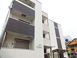 大阪府大阪市住吉区清水丘3丁目の賃貸アパートの外観