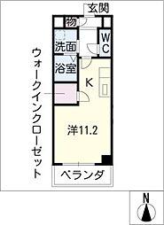 プリマヴェーラ[4階]の間取り