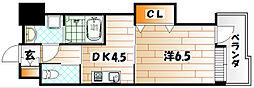 プレステージ・デル・エアプレイン [5階]の間取り