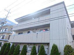 千葉県松戸市西馬橋幸町の賃貸アパートの外観