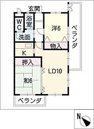 VIA 141[9階]の間取り