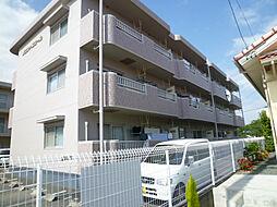 静岡県磐田市二之宮東の賃貸マンションの外観