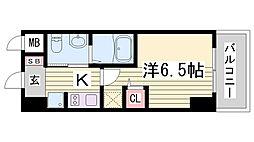 EC神戸ハーバーランド前Vアクア[3階]の間取り