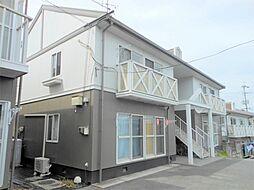 岡山県浅口市金光町佐方の賃貸アパートの外観