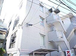 東京都調布市多摩川2丁目の賃貸マンションの外観