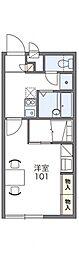 レオパレスYOKOSUKA[1階]の間取り