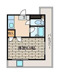 グランヴァン町田[8階]の間取り