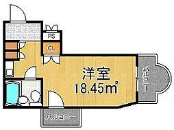 プチグレイス5番館[3階]の間取り