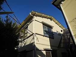 東京都世田谷区給田1丁目の賃貸アパートの外観