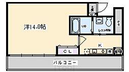 SACRA ANNEX[4階]の間取り