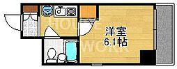 DETOM-1二条城南[502号室号室]の間取り