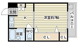 アンフィニィ・松ヶ丘[504号室]の間取り