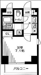 アーデン駒沢大学[4階]の間取り