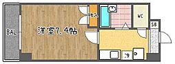 Sakura Residence(サクラレジデンス)[501号室]の間取り