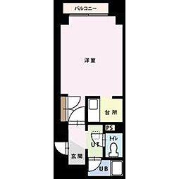 トラストコート17[8階]の間取り
