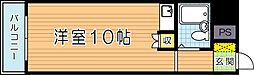 ホワイトパレス黄金(506)[506号室]の間取り