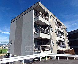 京都府長岡京市勝竜寺巡り原の賃貸マンションの外観