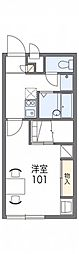 レオパレスノースセブン[2階]の間取り