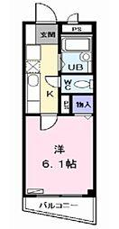 光マンション (ヒカリマンション)[2階]の間取り