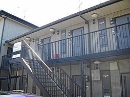 京都府京都市左京区上高野西氷室町の賃貸アパートの外観