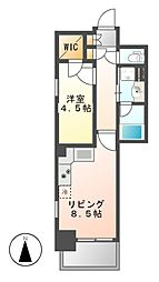 エステムプラザ名古屋丸の内[10階]の間取り