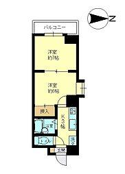 プレシャス御池[9階]の間取り