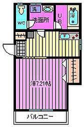 K・HOUSE[2階]の間取り