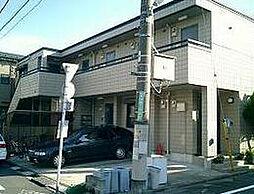 東京都世田谷区奥沢4丁目の賃貸アパートの外観
