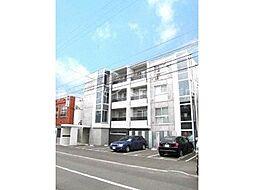 北海道札幌市豊平区美園十条4丁目の賃貸マンションの外観