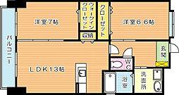 スマート引野[4階]の間取り