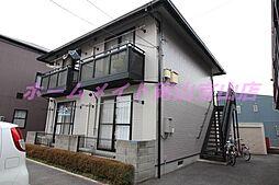 岡山県岡山市北区津島福居2の賃貸アパートの外観