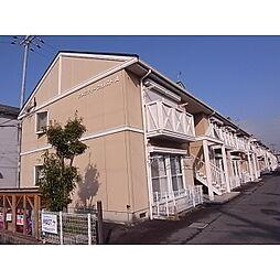 奈良県桜井市粟殿の賃貸アパートの外観