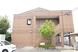 岡山県倉敷市新倉敷駅前5の賃貸アパートの外観