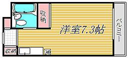 東京都墨田区菊川3丁目の賃貸マンションの間取り