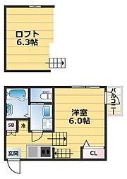 Maison Plum[2階]の間取り