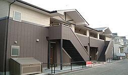 埼玉県上尾市浅間台の賃貸アパートの外観