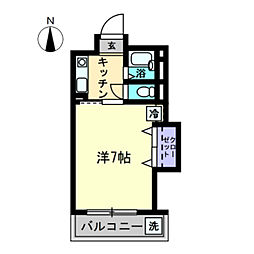AXIA-SHIDO〜アクシアシド〜[1-102号室]の間取り