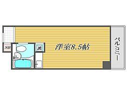 東京都豊島区巣鴨5丁目の賃貸マンションの間取り