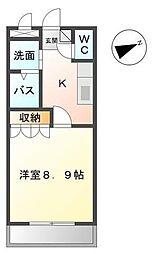パル・川成[102号室]の間取り