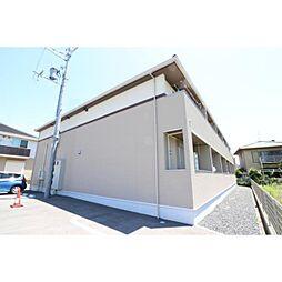 奈良県生駒郡斑鳩町阿波2丁目の賃貸アパートの外観
