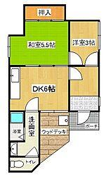 [一戸建] 兵庫県明石市天文町1丁目 の賃貸【/】の間取り